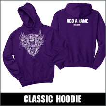"Load image into Gallery viewer, ""2026"" Hooded Sweatshirt - Class of 2026"