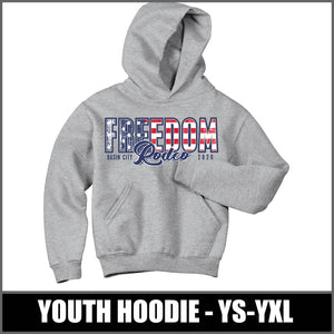 Youth Hoodie - Freedom Rodeo