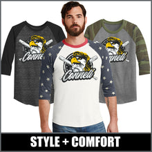 "Load image into Gallery viewer, ""Mullet"" Eco-Jersey™ Baseball T-Shirt - CHS Baseball"