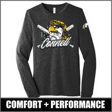 "Load image into Gallery viewer, ""Mullet"" Long Sleeve Tri-Blend - CHS Baseball"