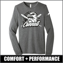 "Load image into Gallery viewer, ""Regal"" Long Sleeve Tri-Blend - CHS Baseball"