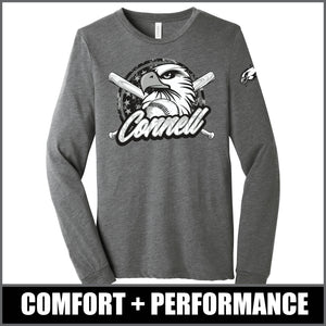 """Regal"" Long Sleeve Tri-Blend - CHS Baseball"