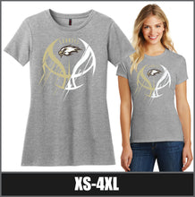 "Load image into Gallery viewer, Women's Perfect Blend ""Meteor"" T-Shirt - CHS Girls Basketball"
