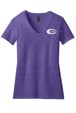 Ladies Perfect Blend® V-Neck Tee - Connell Softball