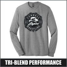 "Load image into Gallery viewer, ""Insignia"" Tri-Blend Long Sleeve - CHS Wrestling"