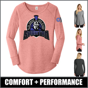 """Apex"" Women's Tri-Blend Tunic - Olds Junior High"