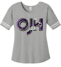 Load image into Gallery viewer, District ® Women's Scorecard Tee - Olds Jr High