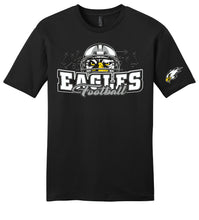 "Load image into Gallery viewer, Softstyle ""HELMET"" T-Shirt - Connell Football"