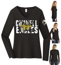 Load image into Gallery viewer, Ladies Long Sleeve V-Neck - Connell Volleyball