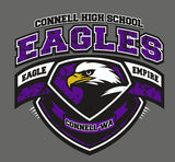 Connell High School - Eagle Empire Crest T-Shirt