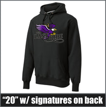 "Load image into Gallery viewer, ""Last Ride"" Super Heavyweight Hoodie - CHS Class of 2020"