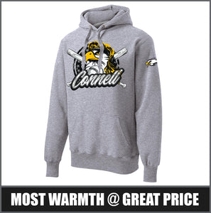 """Mullet"" Super Heavyweight Hoodie - CHS Baseball"