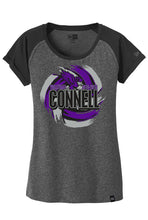 Load image into Gallery viewer, New Era® Ladies Heritage Blend Varsity Tee - Connell Volleyball