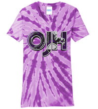Load image into Gallery viewer, Standard or Ladies Tie-Dye Tee - Olds Jr High