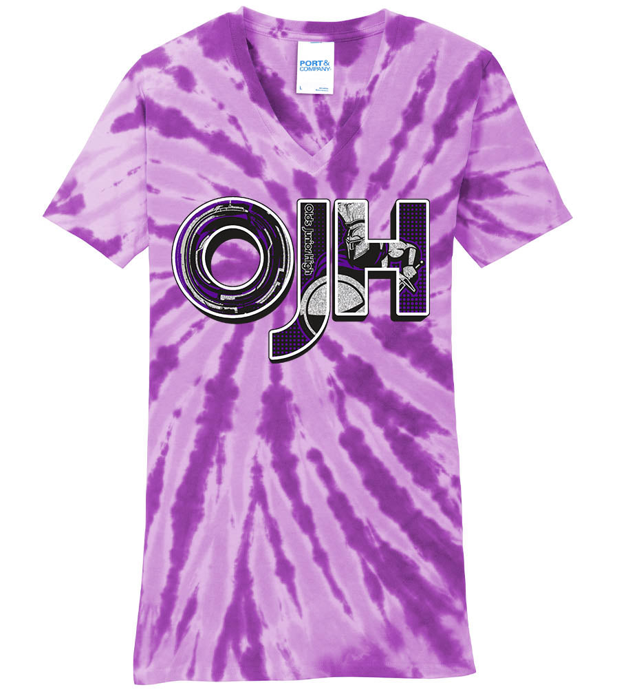 Standard or Ladies Tie-Dye Tee - Olds Jr High