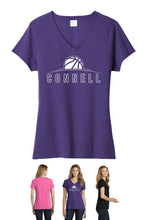 Load image into Gallery viewer, Ladies Comfort Blend T-Shirt - Connell Basketball