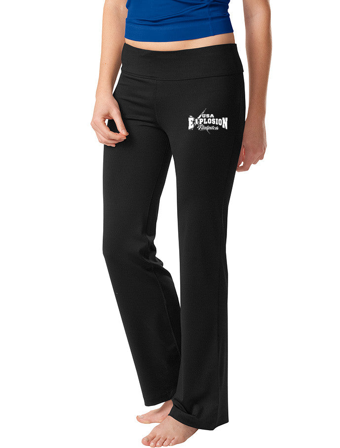 Yoga Pants - USA Explosion Fastpitch