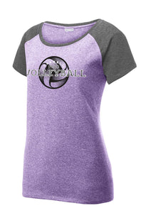 Ladies Contender™ Scoop Neck Tee - Connell Volleyball