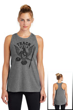 Load image into Gallery viewer, Ladies Tri-Blend Wicking Tank - CHS Track & Field