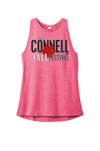 Ladies Tri-Blend Wicking Tank - Fall Festival 2019