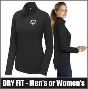 Dry-Fit Tri-Blend 1/4-Zip Pullover - CHS Girls Basketball