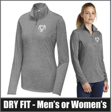 Load image into Gallery viewer, Dry-Fit Tri-Blend 1/4-Zip Pullover - CHS Girls Basketball