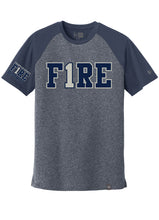 Load image into Gallery viewer, New Era® Varsity Tee (standard or ladies) - FIRE 1