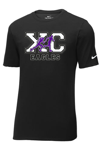 Nike Core Cotton Tee - Short or Long Sleeve - Connell Cross Country