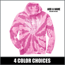 "Load image into Gallery viewer, ""2026"" Tie Dye Hoodie - Class of 2026"