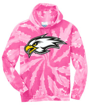 "Load image into Gallery viewer, CHS ""EAGLE"" Tie-Dye Hoodie - Connell Volleyball"