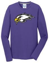 Load image into Gallery viewer, Long Sleeve Performance Blend Tee - CHS Football