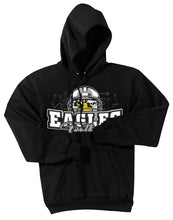 "Load image into Gallery viewer, ""HELMET"" Standard Hoodie - Connell Football"
