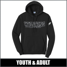 "Load image into Gallery viewer, ""Diamond Plate"" Standard Hoodie - Little Guy Wrestling"