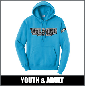 """Diamond Plate"" Standard Hoodie - Little Guy Wrestling"