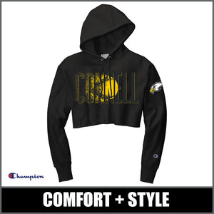 "Ladies ""Blast"" Champion® Cropped Hoodie - CHS Softball"