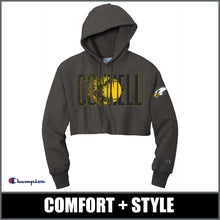 "Load image into Gallery viewer, Ladies ""Blast"" Champion® Cropped Hoodie - CHS Softball"