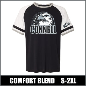"""Regal"" Vintage Jersey T-Shirt - Connell Eagles"