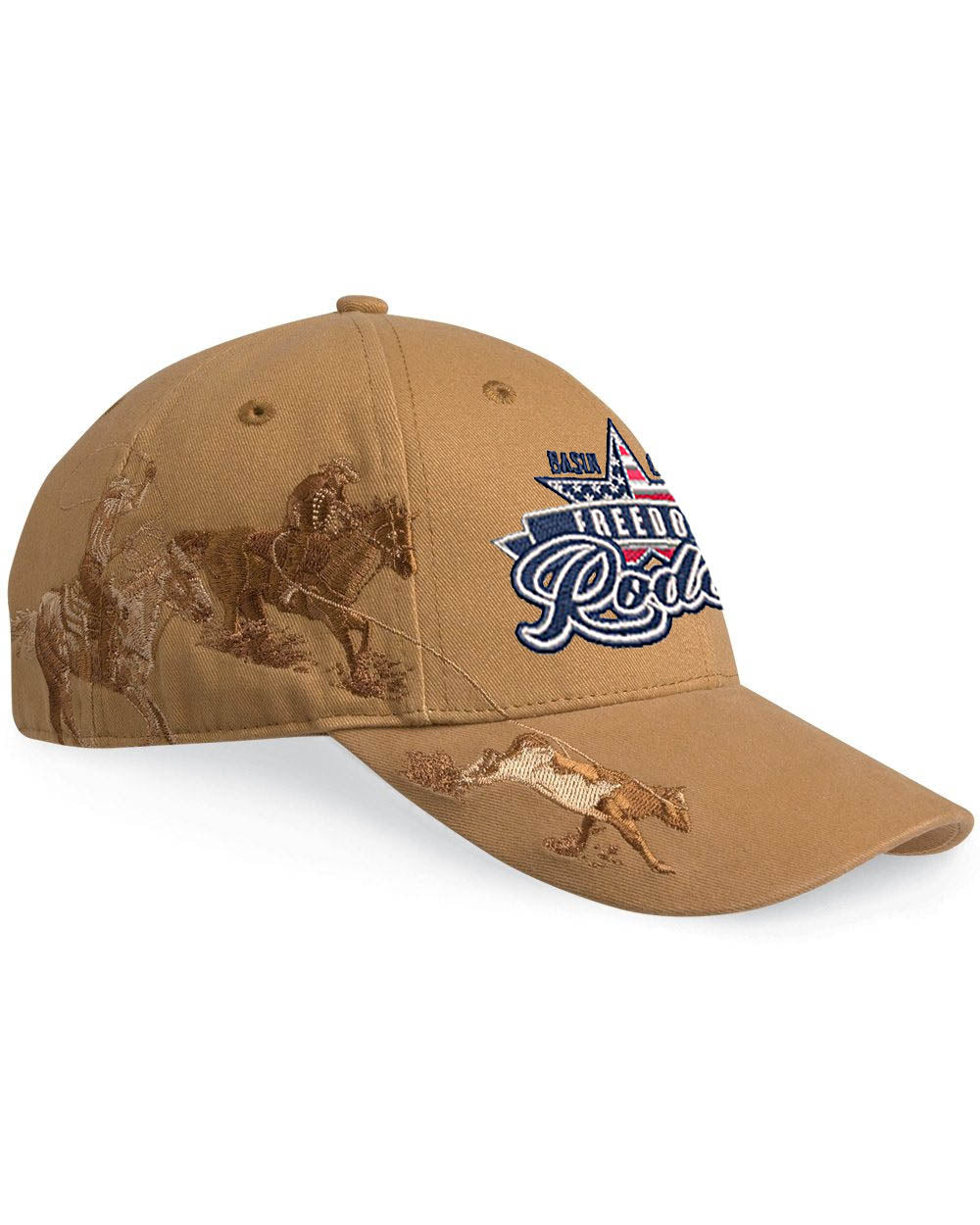 Team Roping Cap - Freedom Rodeo