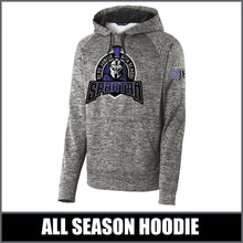 "Load image into Gallery viewer, ""Apex"" Electric Heather Hoodie - Olds Junior High"