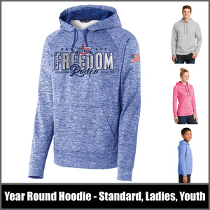 Electric Heather Hoodie - Freedom Rodeo