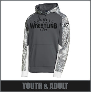 """2020"" Performance Pullover Hoodie - Little Guy Wrestling"