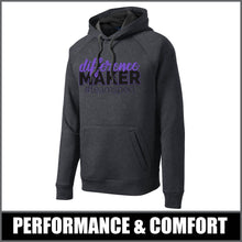 "Load image into Gallery viewer, ""Difference Maker"" Tech Fleece Hoodie - #teamsped"