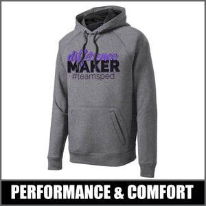 """Difference Maker"" Tech Fleece Hoodie - #teamsped"
