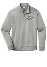 Load image into Gallery viewer, Premium Fleece 1/4-Zip Pullover - Connell Football