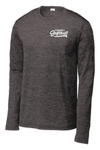 "Load image into Gallery viewer, ""Swoosh"" Long Sleeve Performance T-Shirt - CHS Softball"