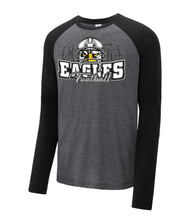 Load image into Gallery viewer, Tri-Blend Raglan Long Sleeve - CHS Football