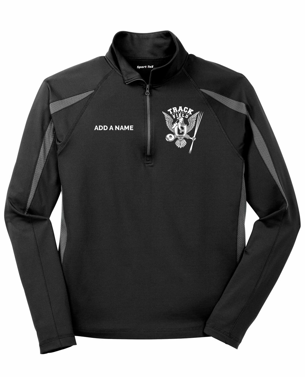 Stretch 1/2-Zip Pullover - CHS Track & Field