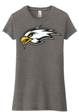 Load image into Gallery viewer, Women's Fitted Tri-Blend T-Shirt - Connell Football