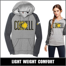 "Load image into Gallery viewer, ""Blast"" Lightweight Raglan Hoodie - CHS Softball"