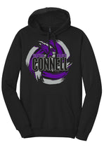 Load image into Gallery viewer, Fleece Hoodie - Connell Volleyball 2018